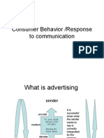 Consumer Behavior to Communication