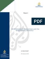 US Withdrawal Afghanistan