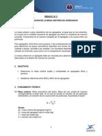 Informe 3 Deterinacion Masa Unitaria