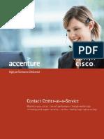Cisco Contact Center as a Service