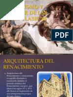 Humanismo y Renacer de Las Artes Clasicas