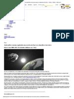 Asteroides Causam Explosões Em Escala Nuclear Na Atmosfera Terrestre