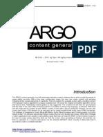 help ARGO