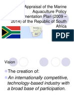 South African Marine Aquaculture Policy 2