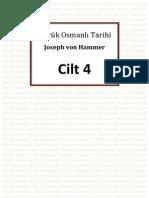Hammer - Büyük Osmanlı Tarihi 4.Cilt