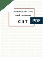 Hammer - Büyük Osmanlı Tarihi 7.Cilt