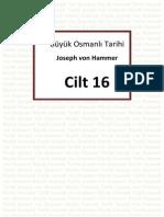 Hammer - Büyük Osmanlı Tarihi 16.Cilt