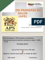 Atencion Primaria en Salud. 31 Marzo