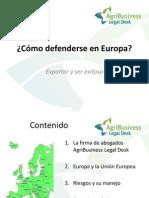 03 Cómo Defenderse en Europa