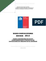 1. Bases Fondo Concursable Dicoex 2013