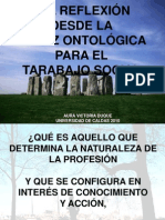 Matriz Ontolgica TRABAJO SOCIAL