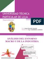 Análisis Entorno Macro y Micro de La Industria