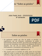 Sobre as Prisões - slides