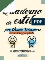 Cuaderno de Estilo - Ursula Velezmoro