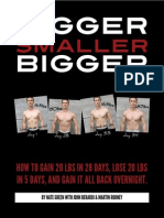 140748111 Bigger Smaller Bigger by Nate Greene With John Berardi and Martin Rooney