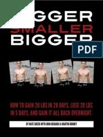 140748111 Bigger Smaller Bigger by Nate Greene With John Berardi and Martin Rooney