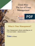 Time Management Ppt