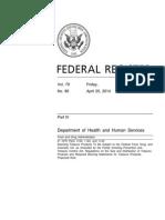 FDA E-cigarette Proposal 042514