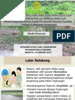 Penelitian Malaria