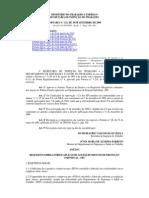 Portaria n.º 121 (Requisitos e Normas Para CA_EPI) Alterada VIII