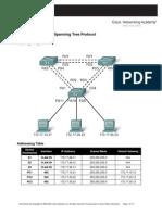 E3_5.5.2_Lab Challenge Spanning Tree Protocol