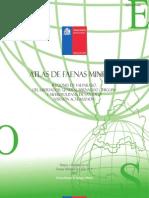 Atlas de Faenas Mineras Regiones de Valparaiso, Ohiggins y Metropolitana