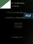 Valdes Oliva - Fundacion de La Escuela Politecnica