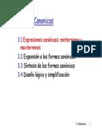 Formas Canonicas