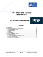 sap security authorizations