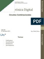 Digitales Clase 6 - Circuitos Combinacionales 1