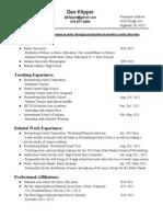 dklipper resume