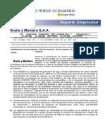 Reporte Empresarial Graña y Montero