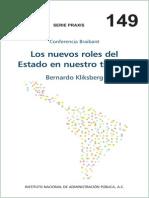 Roles Del Estado Kliksberg