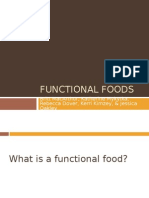 Nutrition 410 Functional Foods Presentation