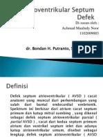 Atrioventrikular Septum Defek Fix