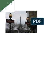 Programme Voyage à Paris Mai 2014