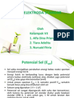Potensial Elektroda Standar