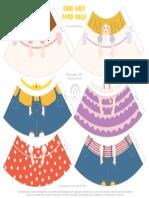 Mrprintables Cone Girls Set1