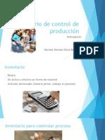 Inventario de Control de Producción