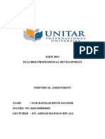 ESEB 3051(Teacher Professional Development)