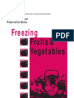 Freezing Fruits and Vegetables B3278 - Barbara Ingham
