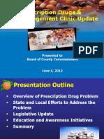 2013-06-04 Discussion Prescription Drugs and Pain Management Clinics