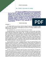 Pua vs CA 134992 November 20, 2000 J. Kapunan First Division