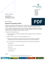 Greater Wellington Regional Council ltr received 10 Feb 2014 re Centre Port information request