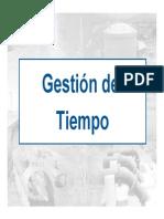 05 Gestion Del Tiempo.pdf Ing Juan Verastegui 2012