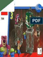 Lego Manual 7596-1 Toy Story