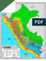 N Mapa Clasificación Climatica-SENAMHI
