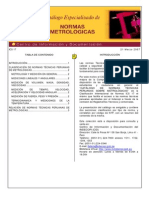Catalogo Normas de Metrologia de Indecopi