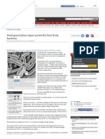 Next Generation Super Powerful Fuel From Bacteria - The Times of India
