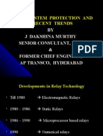17595278 Power System Protection Recent Trends by Jdm Latest